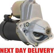 Vauxhall Zafira Starter Motor