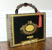 Vintage Beaded Box Purse