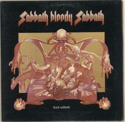Black Sabbath Sabbath Bloody Sabbath - ACB - 1st UK vinyl LP album record
