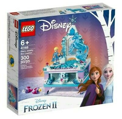 LEGO DISNEY FROZEN II ELSA'S JEWELRY BOX CREATION 300 PCS NEW SEALED  #41168