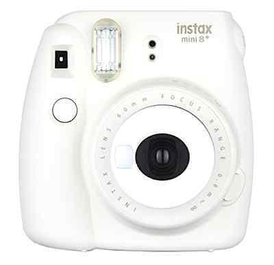 Fujifilm Instax Mini 8+ Instant Film Polaroid Camera, Selfie Shot Mirror Vanilla