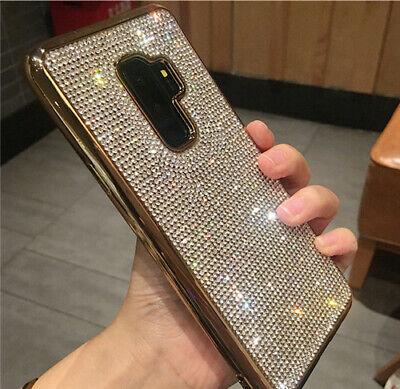 Bling Full Crystal Diamond phone case for Samsung S8 9 Plus Note 8 9 (Full Diamond Bling Phone)