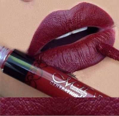 Matt Damen Lippenstift wasserdicht Lippen Stift Lip Gloss Make up Farbe #33