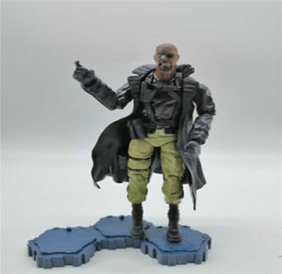"6"" Comics  Series  Nick Fury  Loose Action Figure"