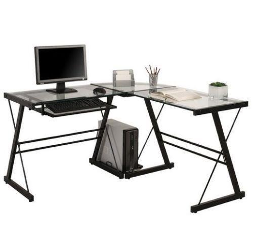 Black Corner Desk Ebay