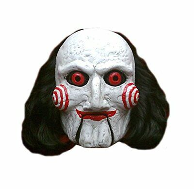 Authentic SAW Billy The Puppet Deluxe Mask - Saw Billy The Puppet