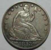1853 Half Dollar