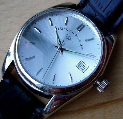 """Designer-Armbanduhr im Vintagelook - Häusser & Sachs """"Eins"""" - mit Quarzwerk"""