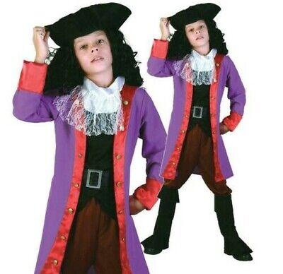 Jungen Piraten Kostüm Haken Welt Buch Woche Kostüm ()
