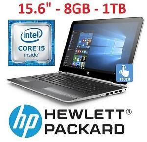 """REFURB HP 15.6"""" TOUCH LAPTOP PC PC NOTEBOOK COMPUTER - ELECTRONICS -15.6"""" - 8GB - 1TB - WIN 10 107720730"""