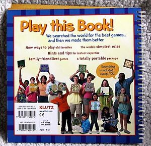 NEW - Klutz Book: The 15 Greatest Board Games in the World Kingston Kingston Area image 4
