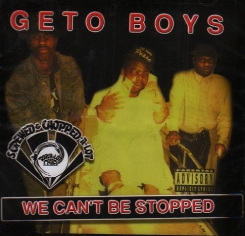 GETO BOYS-WE CAN`T BE STOPPED  (US IMPORT)  CD NEW