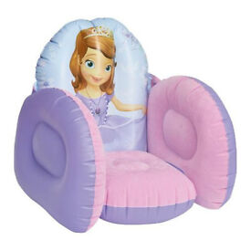 Sofia Flocked Chair inflatable chair NEW