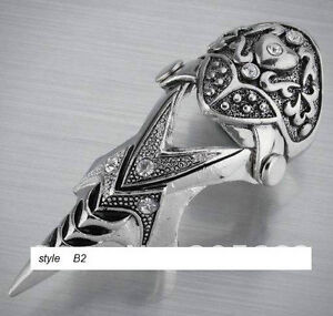 Bagues ARMURE, ARMOR rings,gothique,punk,rocker,hip hop,medieval West Island Greater Montréal image 2