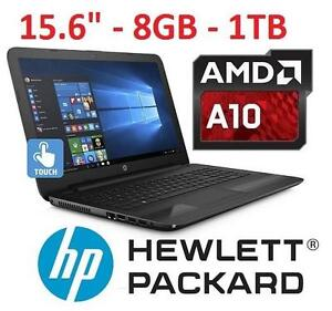 "REFURB HP 15.6"" TOUCH NOTEBOOK PC LAPTOP COMPUTER - ELECTRONICS - TOUCHSCREEN 105903701"