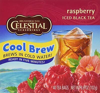 Celestial Seasonings Black Raspberry Tea (Celestial Seasonings Raspberry Cool Brew Iced Black Tea 40 Tea)