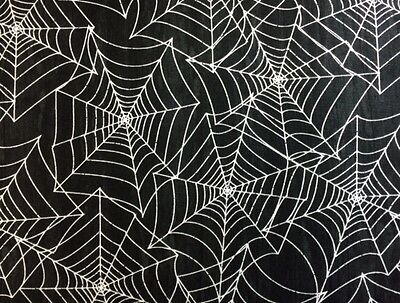 Wilmington EVERY WITCH WAY (Spider Web)100% Cotton Qual Fabric-1/2 yd Halloween