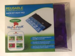 HEAT IT IN A CLICK - Back kit heat pad - Reusable/ Portable