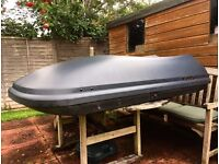 Large Roof Box (Volvo brand) & Thule Roof Bars (as new)