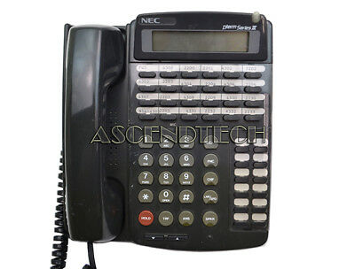 Nec Dterm Series Iii Business Telephone With 24 Buttons Etj-24ds-1 Bk 570021 Usa
