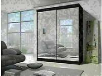 🔵💖🔴IN STYLISH DESIGN🔵💖🔴BRAND NEW BERLIN 2&3 SLIDING DOORS WARDROBE IN 5 DIFF SIZES