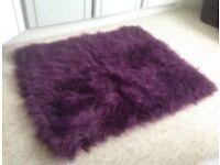 Purple rug - good condition