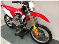 Honda CRF 450RX Road legal lights and speedo key ignition