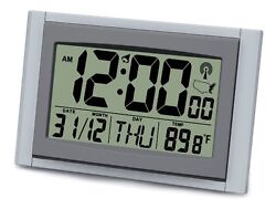 ATOMIC LCD WALL OR TABLE CLOCK MODEL NUMBER T-4685