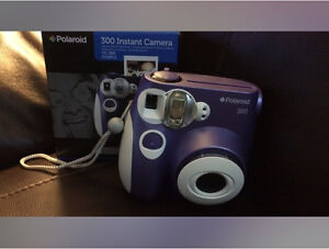 Polaroid Purple Camera