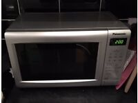 Panansonic silver 700w microwave used vgc £45 no offers