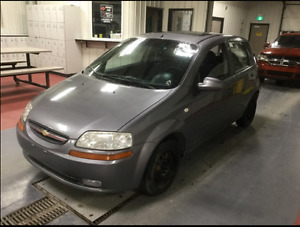 2007 Chevrolet Aveo - Fresh safety/New tires- Only$2700