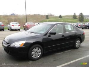 2007 HONDA ACCORD VALUE PACKAGES WITH NEW WINTER TIRES