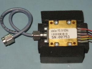 STELLEX-MINI-YIG-OSCILLATOR-8-10GHz-Tunable-SMA-cable