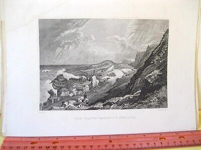Vintage Print Giants Causeway Ireland 19Th Century