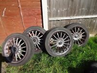 "Alloy wheels 17"", 4 x 100 PCD"