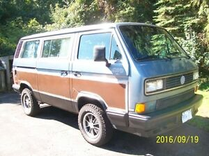 Rare Vanagon Syncro 4 x4 I'm Moving--Must Sell!