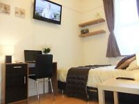 ■ Gorgeous Double+TV.Mins Walk to Stratford or West Ham Tube ■ Residential Peaceful Prime Location!■