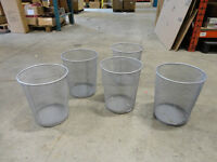 Ikea Steel Mesh Garbage Pails - I have 7of them Available