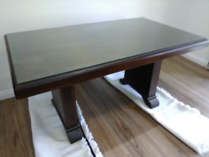 Antique Dining Table & Chair
