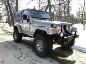 2004 Jeep TJ Sahara Edition