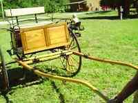 Magnifique voiture pour cheval, 2 roues, Gig