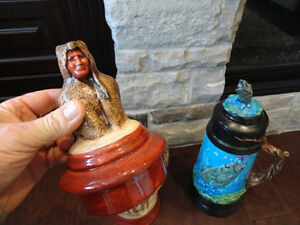 Selling Two Large Beer Steins Hand Painted Ceramic - $25 each Kitchener / Waterloo Kitchener Area image 3