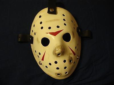 Jason Creation Station Friday 13th 3 Hockey MASK HALLOWEEN HORROR prop Replica