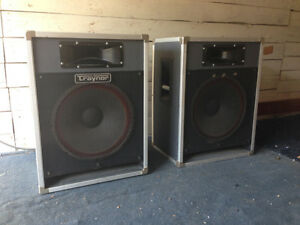 Speakers PA (2) TRAYNOR CS-115H PA Speakers OBO