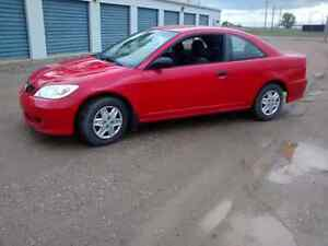 2004 honda civic only 210kms!!! $1700 FIRM!
