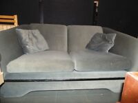 ~ GREY COUCH - *Clean & *No Damage