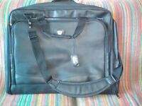 Black travel suit/dress bag