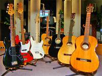 I am looking for newer and older guitars........