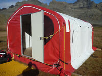 Alaska Structures GBX Aluminium Box Section Frame Tents