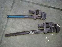 antique adjustable spanners